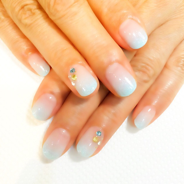 59% off ★ Elegant ♪ Hand carrage or French course ¥ 5500 (including off) ※ Stone will be separately | Aina Nail | Last-minute booking service Popcorn