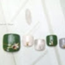 [Prime / off Free] foot ☆ choose ♪ Original Art A course ♡ trend top-season design a large number !! | Nail salon Keys (Keys) | Last-minute booking service Popcorn