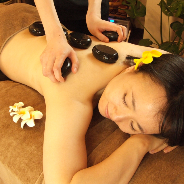 Best of 120 minutes! Hot stone massage ☆ | M roots | Last-minute booking service Popcorn