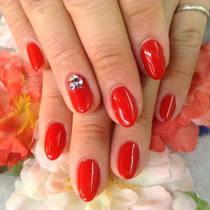 300色から選べる☆ワンカラーネイル | nail salon LUCE(ネイルサロンルーチェ) | 当日予約・直前予約 ポップコーン