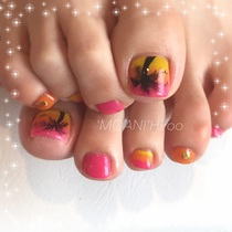 "popcorn limited! Sole horny care 3000 yen included! ︎ your favorite foot gel ""your favorite design spear unlimited"". 