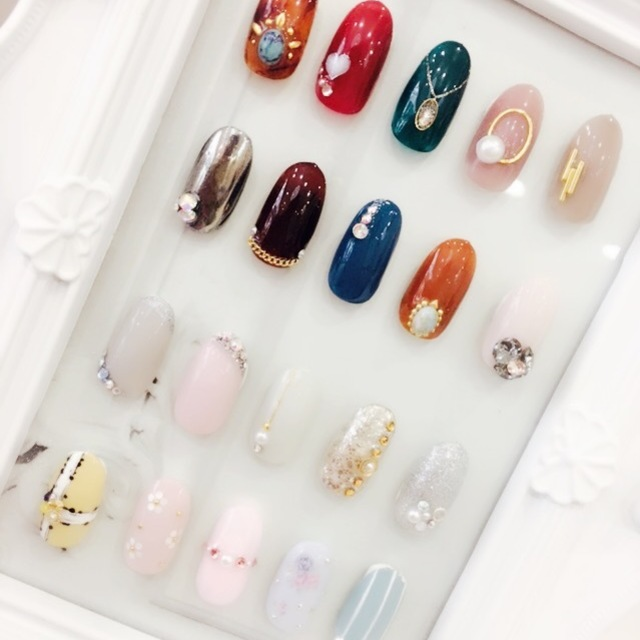 ♡ Off included ♡ Paragel 1 point art course ♡ paraffin pack service ♪ | Nail Kcloe (nail Chloe) Nihonbashi | Last-minute booking service Popcorn
