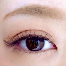 [新規・オフ込]初めての方にもオススメ♪シルクエクステ(上) 80本 | Eye Lash Salon Vivi 大名店 (アイラッシュサロン ヴィヴィ) | 当日予約・直前予約 ポップコーン
