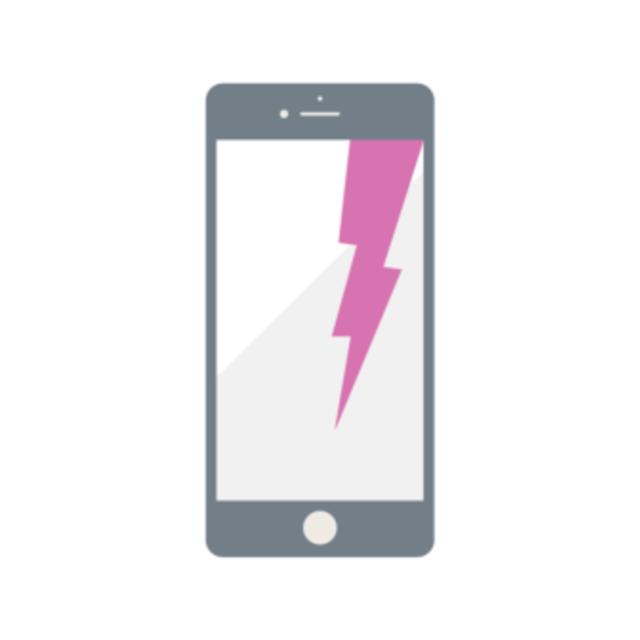 【平日割 口コミ投稿で修理代金5%off】iPhone液晶破損・ガラス割れ