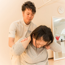 [Return] chiropractic | Mizue Station manipulative Institute | Last-minute booking service Popcorn