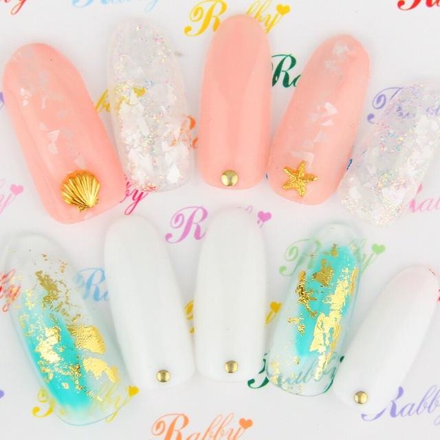 [Popcorn限定・オフ込]夏デザイン!!10種類のデザインから選べる☆デザインコース♡ | Rabby Nail(ラビィネイル) | 当日予約・直前予約 ポップコーン