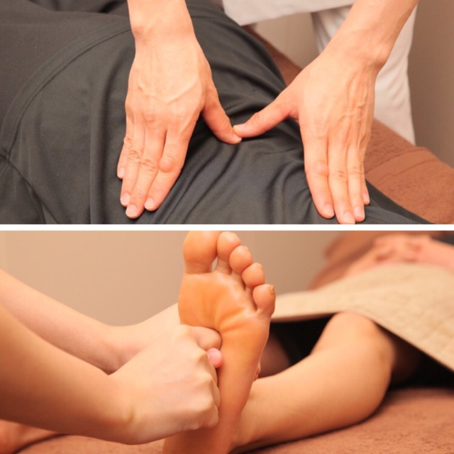 New / 90-minute course] Shiatsu-based chiropractic + foot reflation | Reflexology & salon salon calf | Last-minute booking service Popcorn