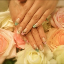 None Off Color Gel one color | Nail Salon Princess Road | Last-minute booking service Popcorn