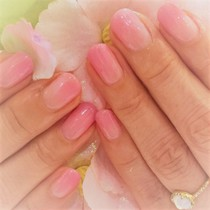 [First time off inclusion] color gradation / one color | JNA certification ★ nailsalon | Last-minute booking service Popcorn