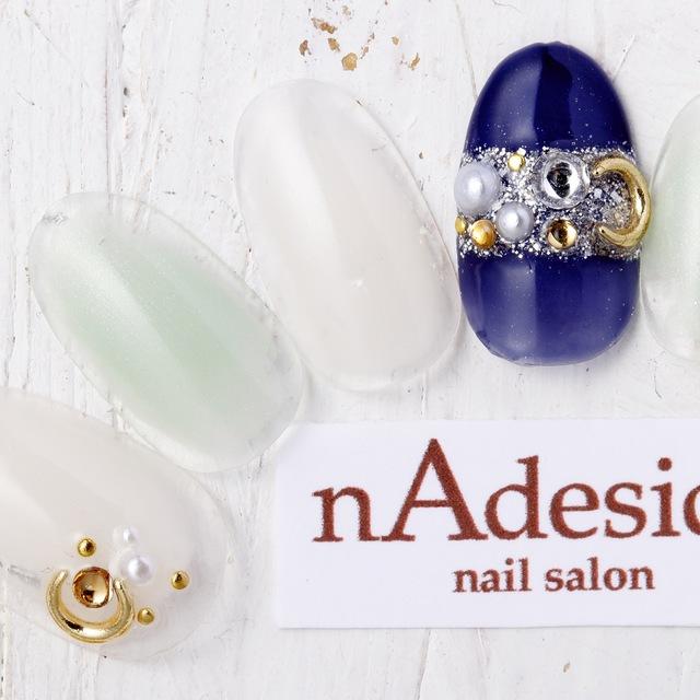 新規・オフ込み☆限定!秋のトレンドデザイン!! | nAdesico nail salon (なでしこネイルサロン) | 当日予約・直前予約 ポップコーン