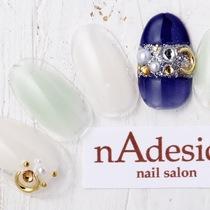 新規・オフ込み☆限定!秋のトレンドデザイン!!   nAdesico nail salon (なでしこネイルサロン)   当日予約・直前予約 ポップコーン