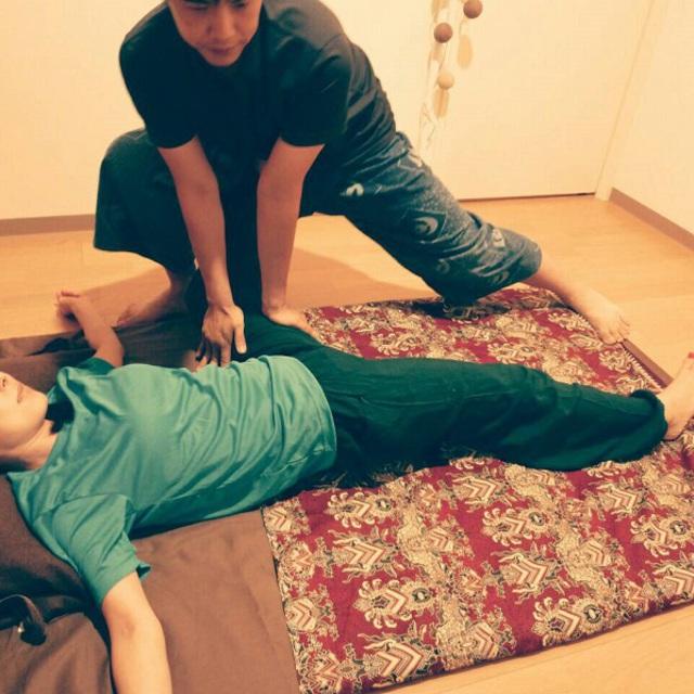 タイ古式マッサージ60分 thai massage 60 minutes 4800円