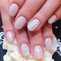 [New / off included ♪] winter limited ♪♪ knit nail course + studded two with ♡ color more than 60 colors ♡ | Nail Salon Tokyo Shinjuku | Last-minute booking service Popcorn
