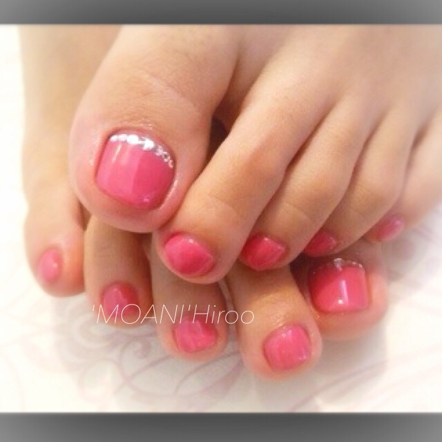 Jeruofu, cuticle care Ho Shimekomi! Foot Gel one color (first repeater like Common) | Nail salon 'MOANI' Hiroo Ebisu Shibuya store | Last-minute booking service Popcorn