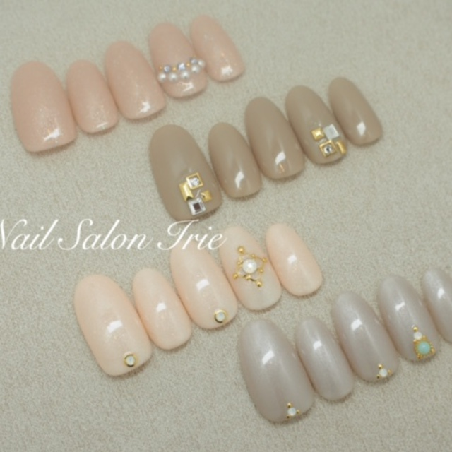 Off another] Stone set 20 ☆ | NAIL SALON Irie (Nail Salon Irie) | Last-minute booking service Popcorn