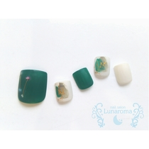 【Incoming / Care Included】 Seasonal Nail Selection 【Foot Bath · Water Care Included】 | Nail Salon Lunaroma | Last-minute booking service Popcorn