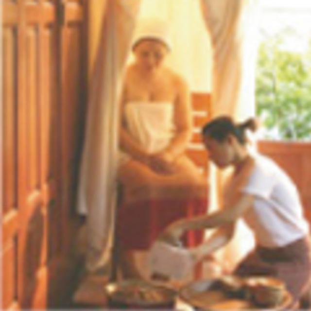 タイハーブテント浴体験