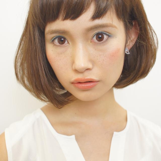 [再来]カット + アイロンストレートパーマ | gokan omotesando(ゴカン オモテサンドウ) | 当日予約・直前予約 ポップコーン