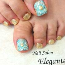 [新規・オフ込み]FOOTジェルやり放題 | Nail Salon Elegante(ネイル サロン エレガンテ) | 当日予約・直前予約 ポップコーン