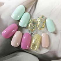 【Necessary weak person must-see】 OFF included ★ Nail trial course (one color or lame gras or wheels) MIX is also OK! A | Kain (Cain) [nail] Meguro Station walk 30 seconds | Last-minute booking service Popcorn