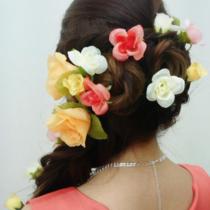 [土日14時まで限定]デート、結婚式にも♪早朝料金なし♪ヘアセット☆ | Hair make Tiara(ヘアーメイクティアラ) | 当日予約・直前予約 ポップコーン