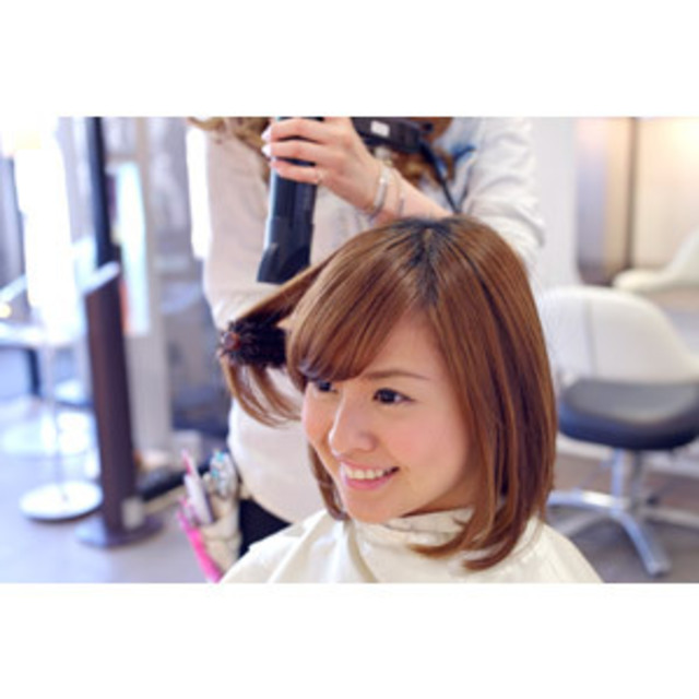 [New] vitamin & MoTadashi care ◎ Treatment + cut | AXIS HAIR & MAKE (Axis hair and make-up) | Last-minute booking service Popcorn