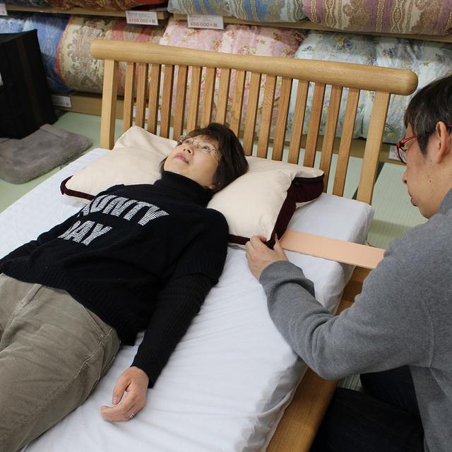 オーダー枕の調整