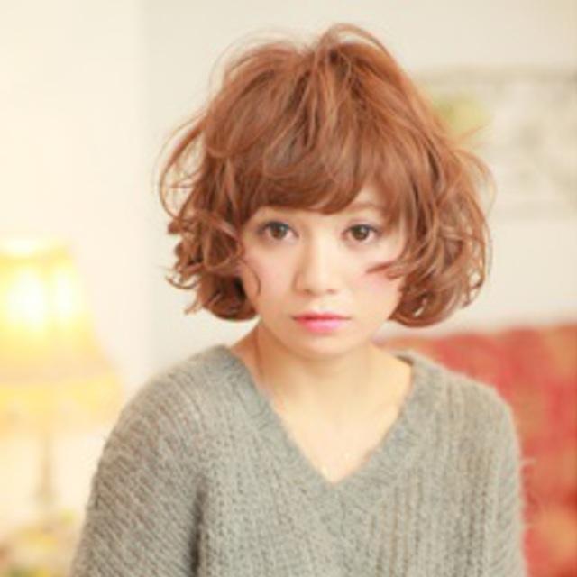 パーマ+カット | m DE COEUR 石神井公園店 (エムクール) | 当日予約・直前予約 ポップコーン