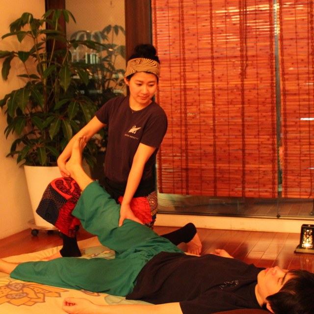 [100 minutes] systemic Traditional Thai massage select course ~ pair reservation - please than call button | Asian Breeze Gakugeidaigaku shop | Last-minute booking service Popcorn