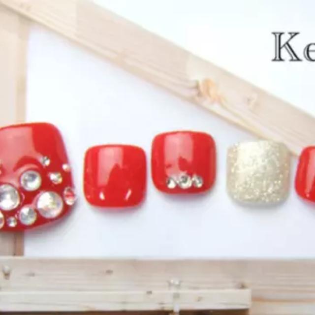 [初回/オフ無料]フット☆選べる♪オリジナルアートBコース♡カラー・デザインサンプル多数!! | Nail salon Keys (キーズ) | 当日予約・直前予約 ポップコーン