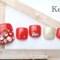 [Prime / off Free] foot ☆ choose ♪ Original Art Course B ♡ color design sample number !! | Nail salon Keys (Keys) | Last-minute booking service Popcorn