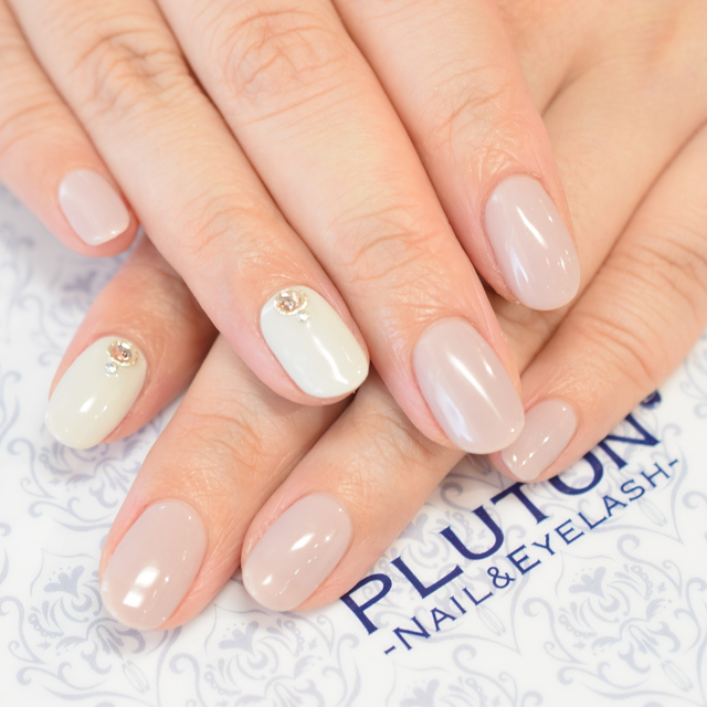 [Returning · Soft geloff included] Hand simple course (One color 2 color / 2 pieces Art included) = 5 minutes walk from Shibuya station = | PLUTON (pluton) | Last-minute booking service Popcorn