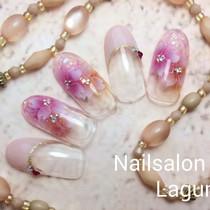[新規・オフ込]41種類から選べる定額ネイル | Nail&Relax Laguna (ネイル&リラックス ラグーナ)-Nail- | 当日予約・直前予約 ポップコーン