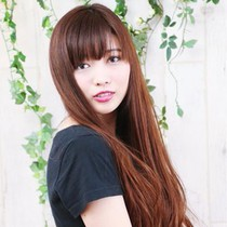 [First] special price ☆ cut + organic herbs color ♪ | hair make SHANTI | Last-minute booking service Popcorn