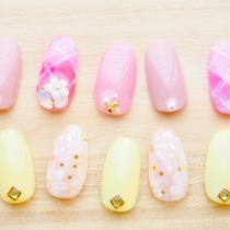 Technical boast! Repeat rate 80% ★ From about 200 kinds of samples ♪ Repeater ★ Art course 9720 yen ★ | Aina Nail | Last-minute booking service Popcorn