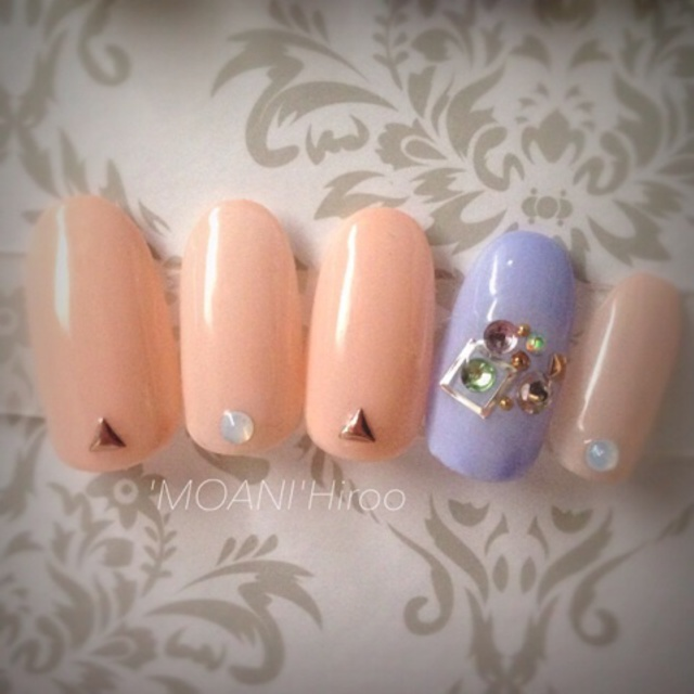 [Limited] adult cute - Good Art course | Nail salon 'MOANI' Hiroo Ebisu Shibuya store | Last-minute booking service Popcorn