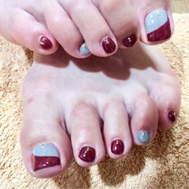 [Reincarnation / off there] foot B. simple design course (about choose from 60 kinds of design ☆ bring negotiable) | Eye (eye) Nail Ikebukuro | Last-minute booking service Popcorn