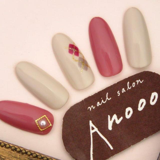* Frequent free off * Argyle Nail ♪ ~ 5 min walk from Shinjuku Nishiguchi Station ~ | nail salon Anooo (nail salon anode) | Last-minute booking service Popcorn