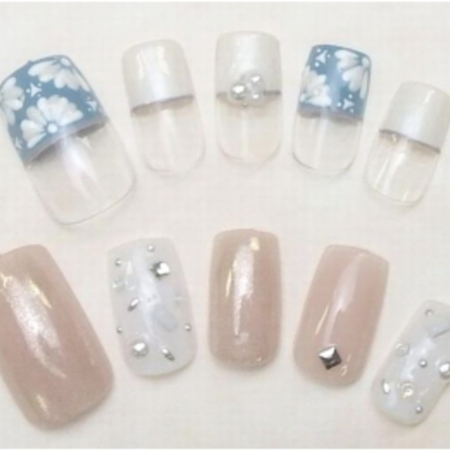 [Anyone any number of times] Flat-rate 6000 yen course ♪ Office is also cute ♪ Simple nail large number ☆ | nail salon LUCE (Nail Salon Luce) | Last-minute booking service Popcorn