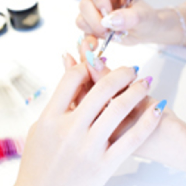 Off included] clear ten Gel | Nail Salon Princess Road | Last-minute booking service Popcorn