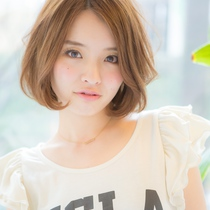 髪と頭皮に優しい♡オーガニックカラー+プラチナトリートメント | Hair Salon Syrup(ヘアーサロンシロップ) | 当日予約・直前予約 ポップコーン