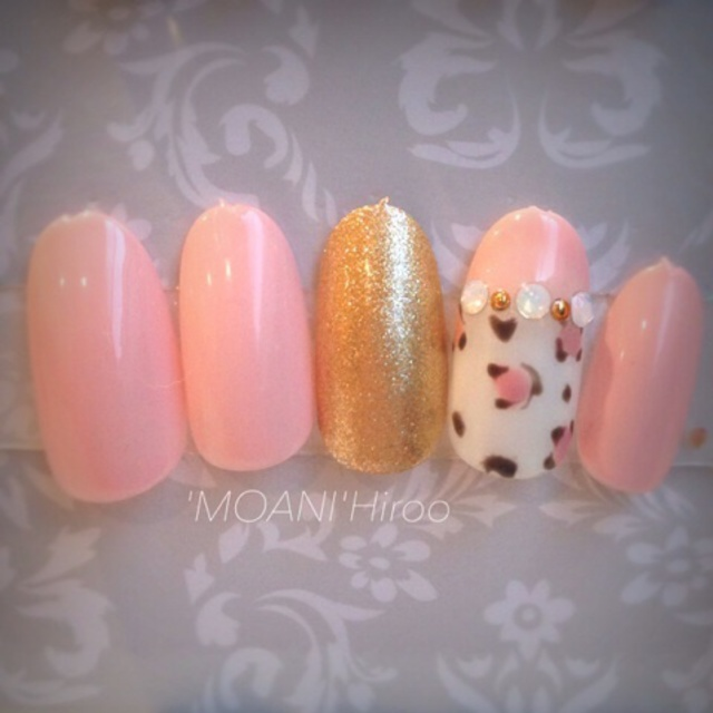 [Limited] adult cute - Good Art course. | Nail salon 'MOANI' Hiroo Ebisu Shibuya store | Last-minute booking service Popcorn