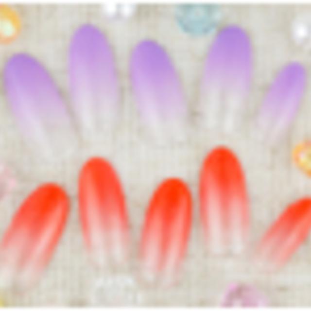 [再来/オフなし/雑誌掲載店]スピードメニュー☆選べる♪ハンドワンカラーorカラーグラデーション☆ | kobitonail (コビトネイル) | 当日予約・直前予約 ポップコーン