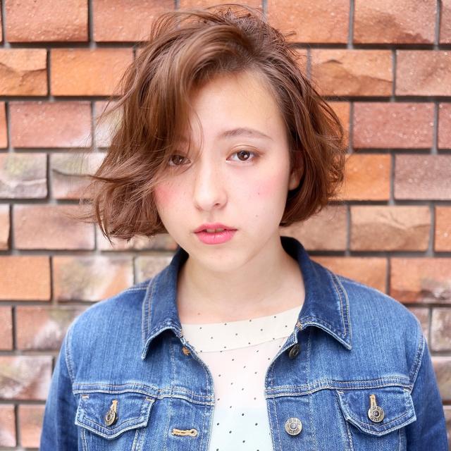 [新規]トリートメントパーマ+カット | Яe代官山 恵比寿(リー) | 当日予約・直前予約 ポップコーン