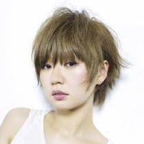 [新規]リタッチカラー(根元のみ)+カット | Posh hair design | 当日予約・直前予約 ポップコーン