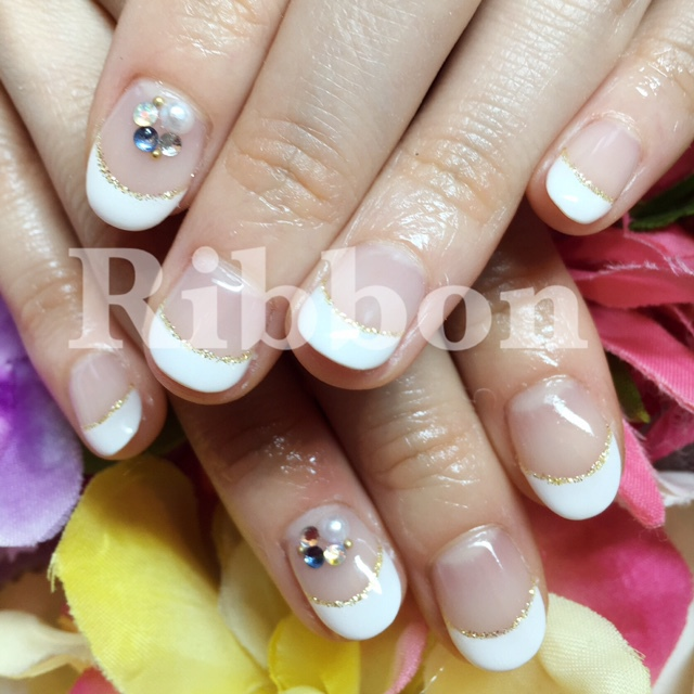 【New】 [Gel Off & Keep In] Hand Simple Course | Ribbon Tachikawa store | Last-minute booking service Popcorn