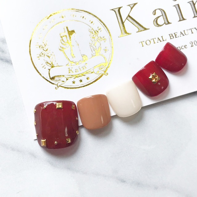 [September Only] ART included foot nail‼ ︎First off & foot bath & care included   Kain (Cain) [nail] Meguro Station walk 30 seconds   Last-minute booking service Popcorn