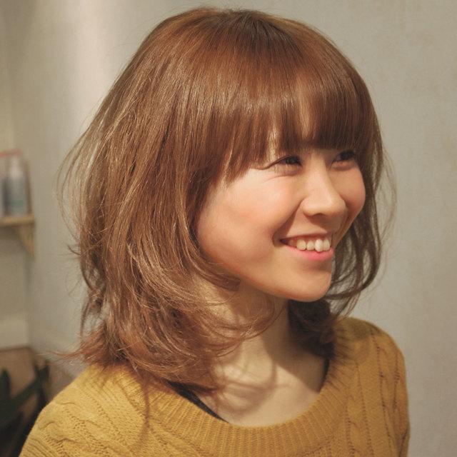 カット+カラー+パーマ+輝艶トリートメント | Hair Studio MOON (ヘア スタジオ ムーン) | 当日予約・直前予約 ポップコーン