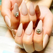 【Dry Care Included】 Simple Gel ♡ Lame Map or One Color Course | SECRETnail | Last-minute booking service Popcorn