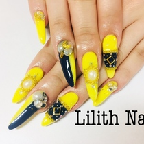 Off-Scaled Scalp】 All you can Art | Lilith Nail | Last-minute booking service Popcorn